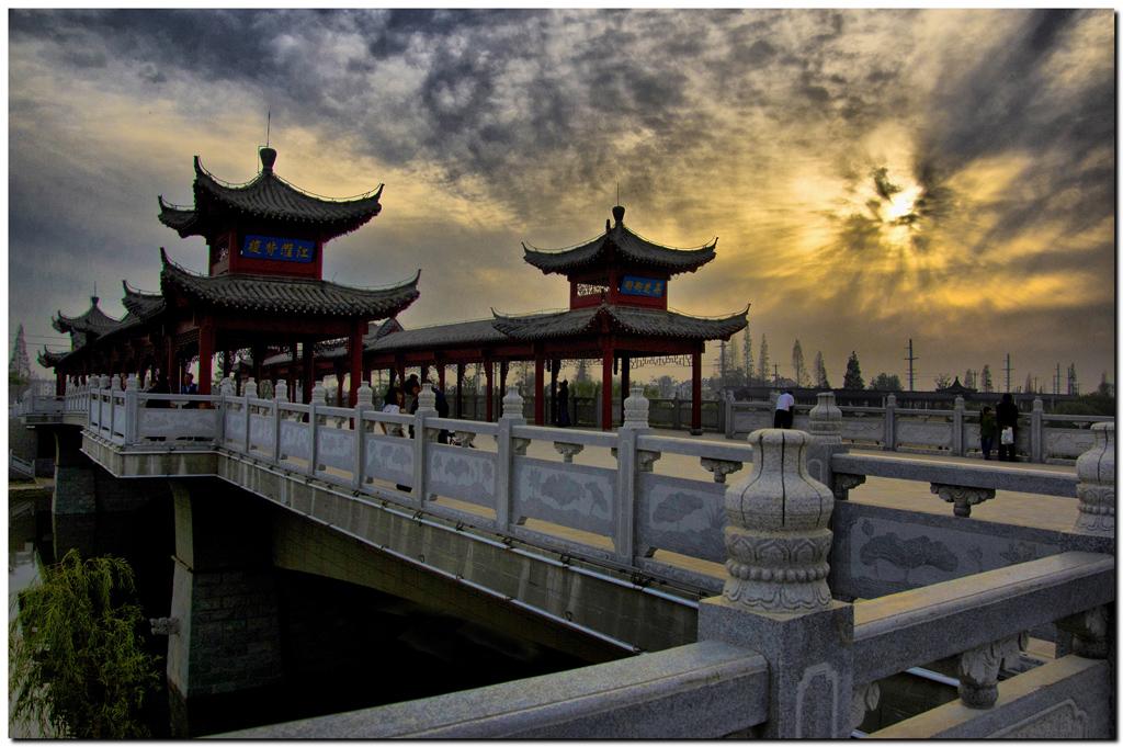 全椒县正月十六走太平 太平桥