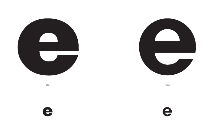 IE8 logo粗体大小和 IE9 logo粗体大小的比较