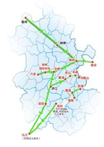 皖江城际铁路网规划启动环评二次公示